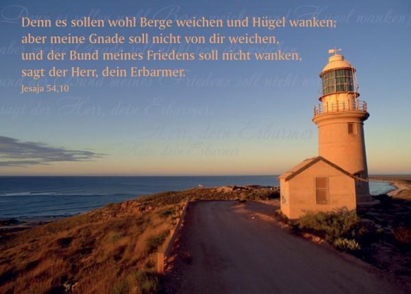 """Postkarte """"Leuchtturm"""""""