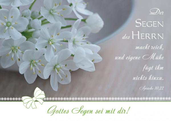"Postkarte ""Der Segen des Herrn"""