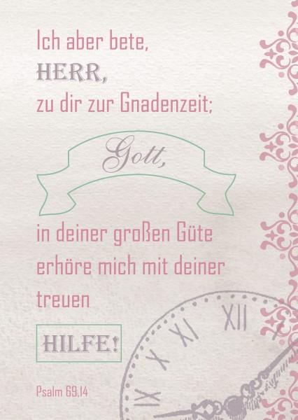 """Postkarte """"Gnadenzeit"""""""