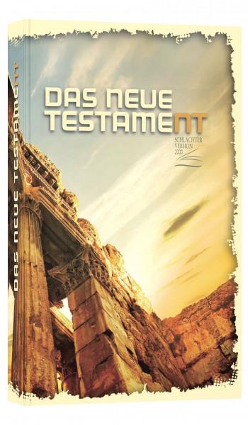 Schlachter 2000 Neues Testament / neue Rechtschreibung / Versanfänge am Zeilenbeginn