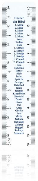 Lineal - Bücher der Bibel