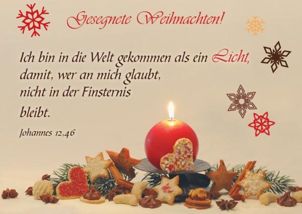 """Postkarte """"Plätzchen"""""""