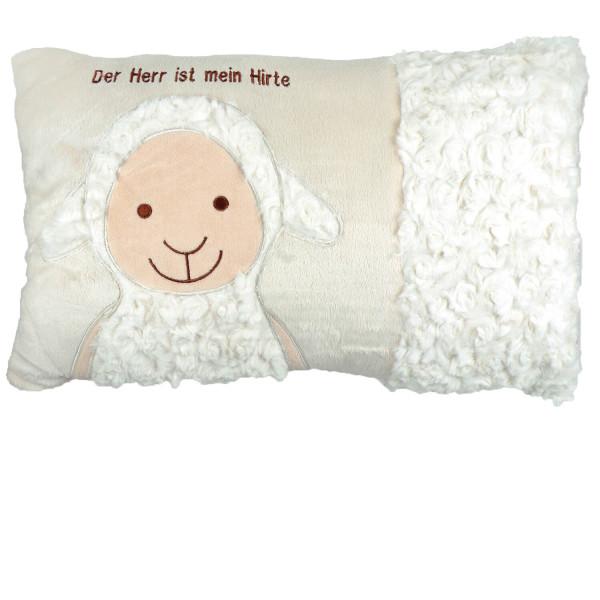 Kissen - Schaf bestickt