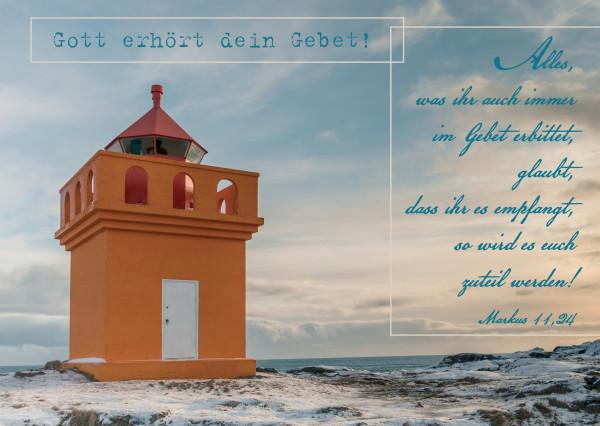 Postkarte - Gott erhört dein Gebet!