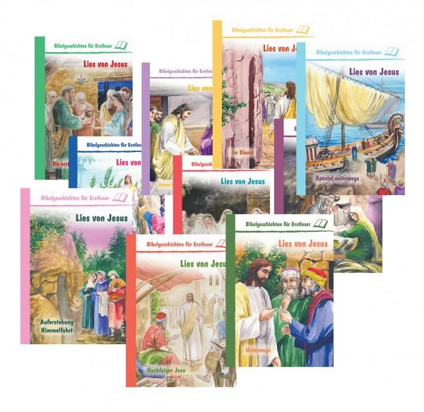 Lies von Jesus 10 Bücher im Set