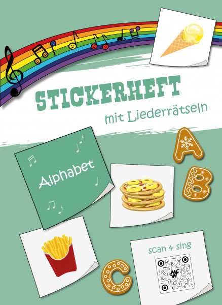 Stickerheft - Alphabet