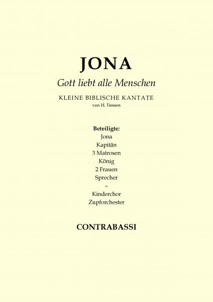 Jona - Gott liebt alle Menschen (Kontrabass)