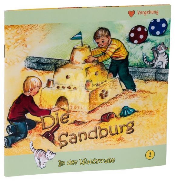 In der Waldstraße - Die Sandburg (Heft 1)