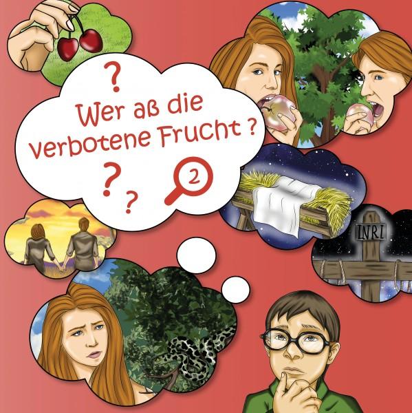 Pappbuch - Wer aß die verbotene Frucht?