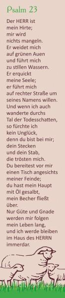 """PVC Lineal + Lesezeichen """"Ich bin Worte"""""""