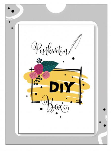 DIY Box - 23 Karten zum Lettern