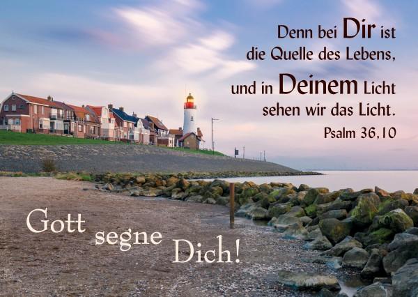 """Postkarte """"Gott segne Dich!"""""""