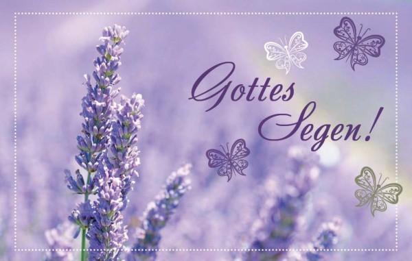 "Minikalender 2019 ""Lavendel"""