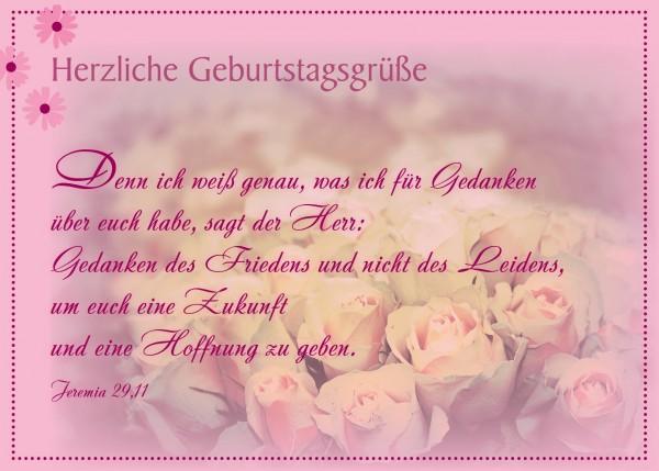 "Postkarte ""Herzliche Geburtstagsgrüße"""